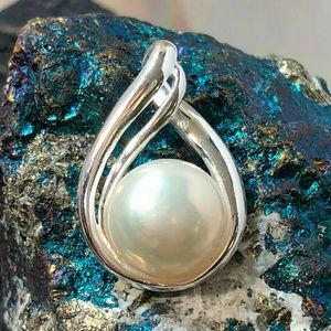 alphavariable Jewelry - Freshwater Pearl Necklace *NEW Sterling Silver 925